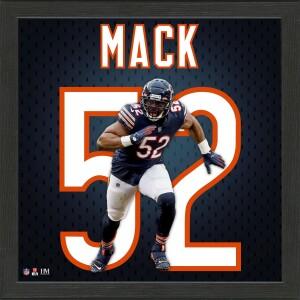 Khalil Mack Impact Jersey Frame