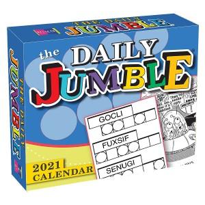 The Daily Jumble 2021 Boxed Daily Calendar