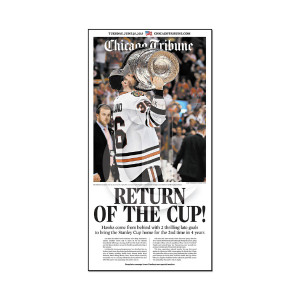 """Return of the Cup"" Dave Bolland Championship Poster"