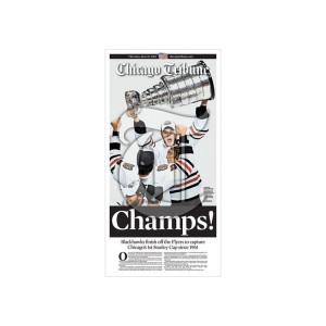 Chicago Blackhawks 2010 Championship Poster
