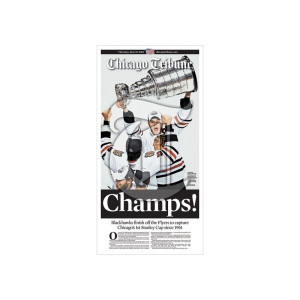 Chicago Blackhawks 2010 Championship Poster