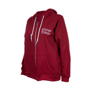Chicago Tribune Women's Red Hoodie