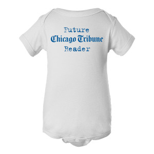 Chicago Tribune Baby Bodysuit