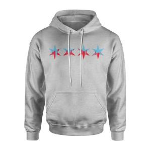 Stars Chicago Skyline Hoodie