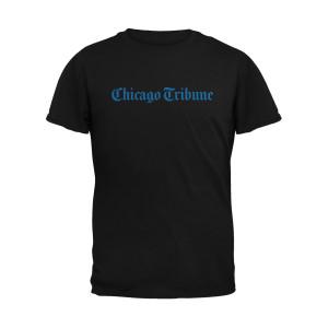 Chicago Tribune Black T-Shirt