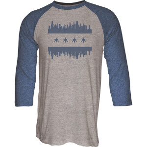 Chicago Skyline Raglan