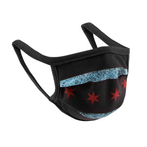 Youth Chicago Flag Face Mask Pack