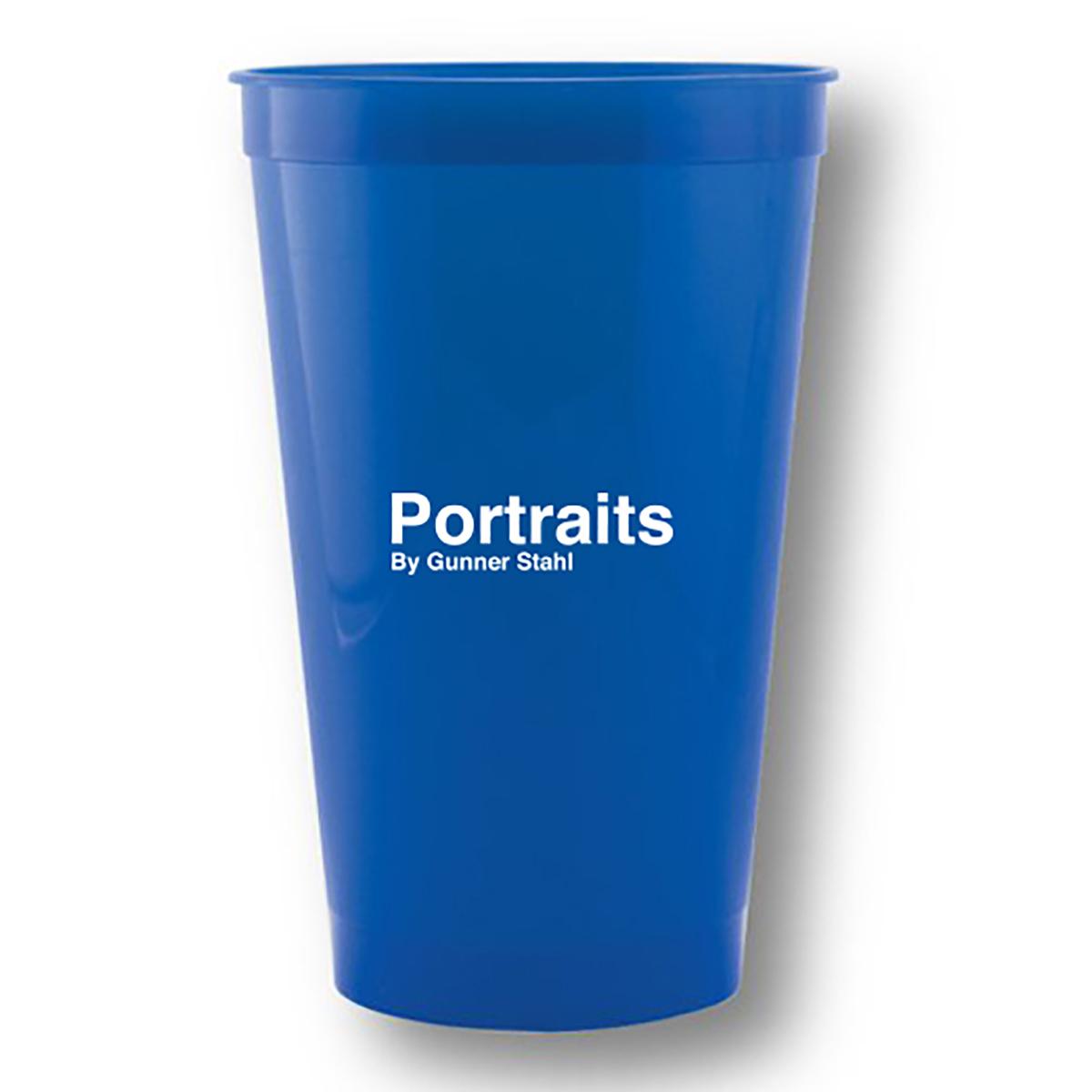 Portraits Logo Stadium Cup