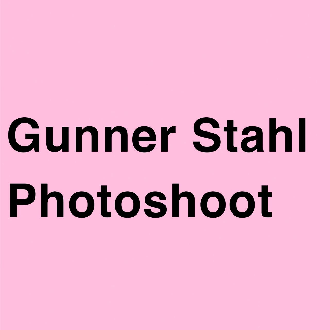 Full Photo Shoot By Gunner Stahl