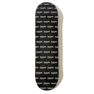 Portraits All-Over Logo Skateboard Deck