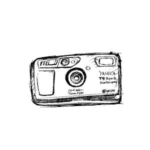 Camera used by Gunner Stahl