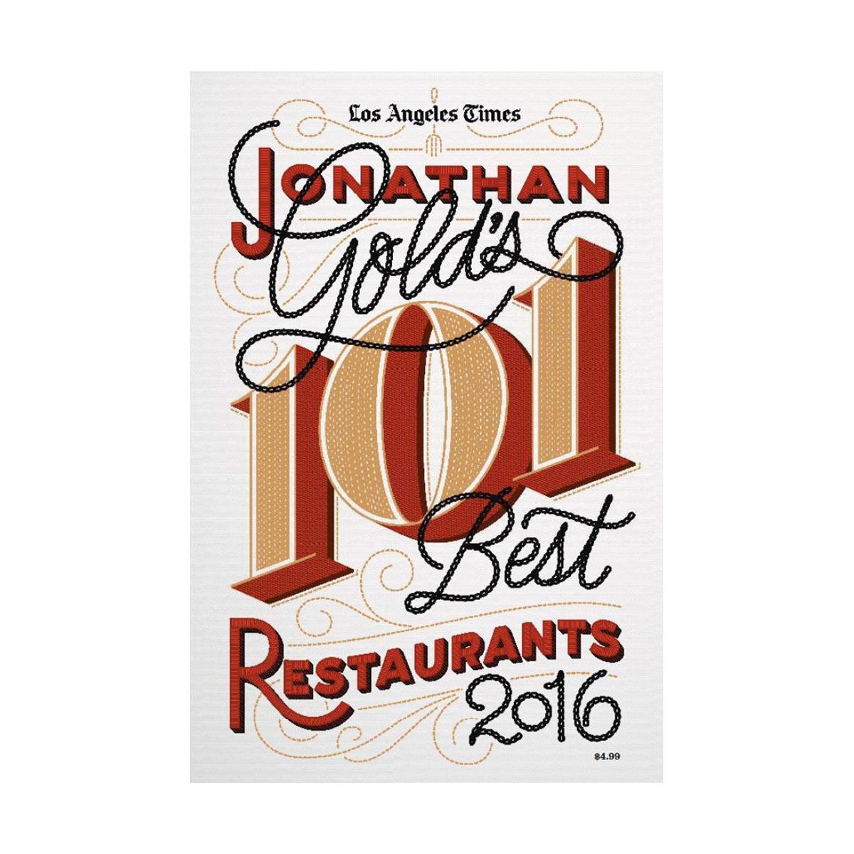 Jonathan Gold's 101 Best Restaurants - 2016