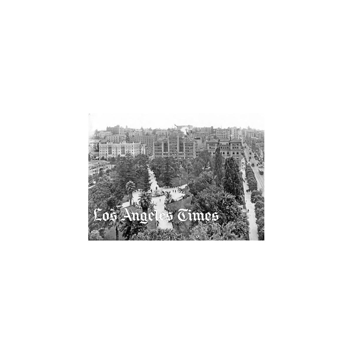 Historical Pershing Square Photo
