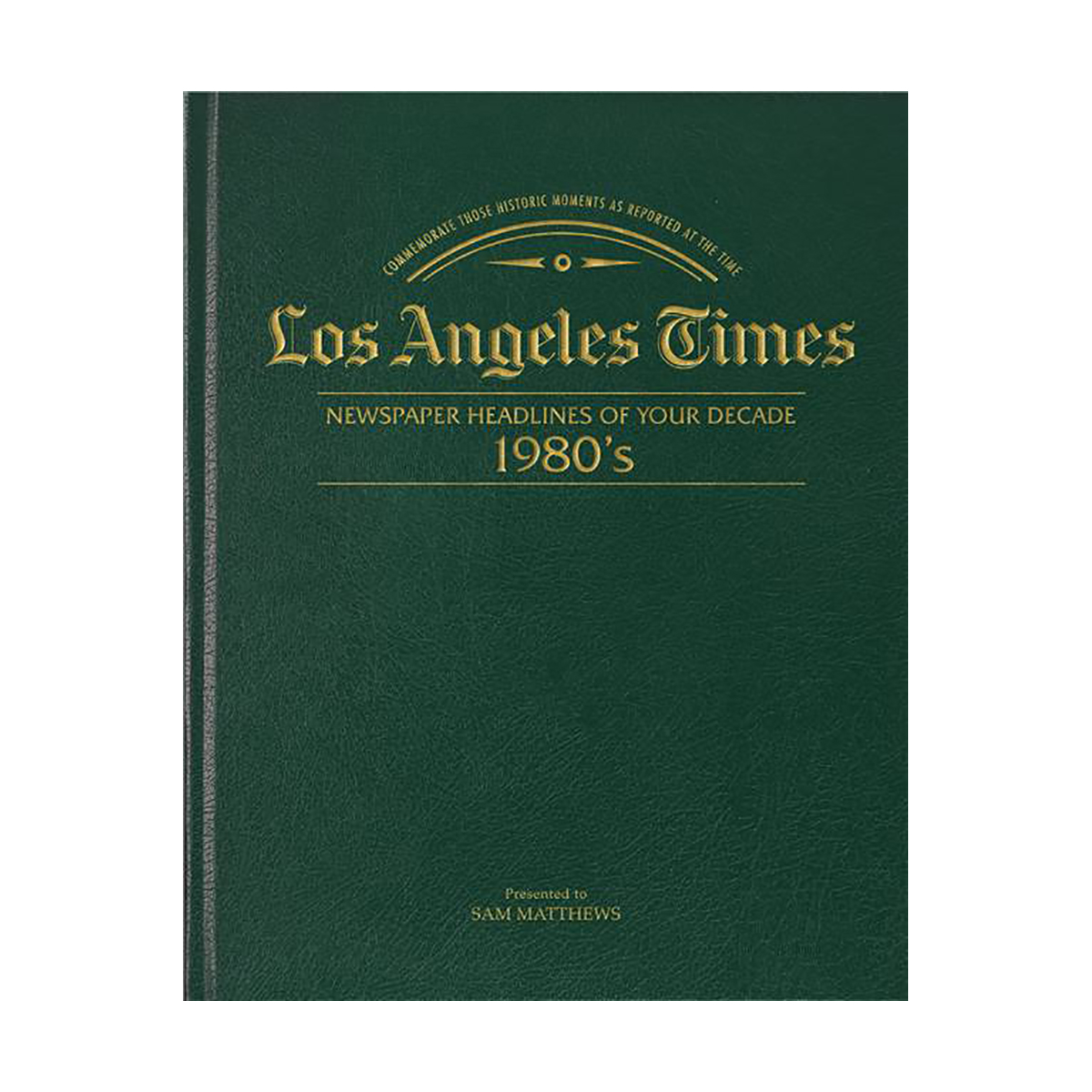 Los Angeles Times 80's Decade Book