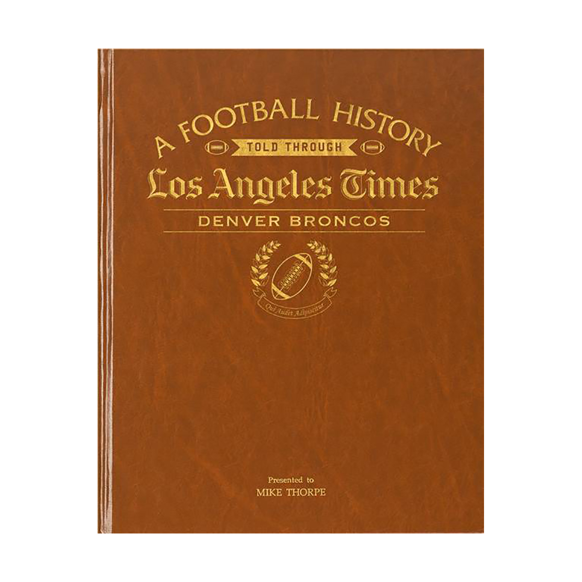 LA Times Denver Broncos Newspaper Book