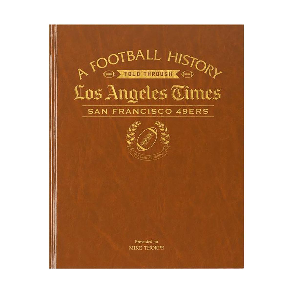 LA Times San Francisco 49ers Newspaper Book