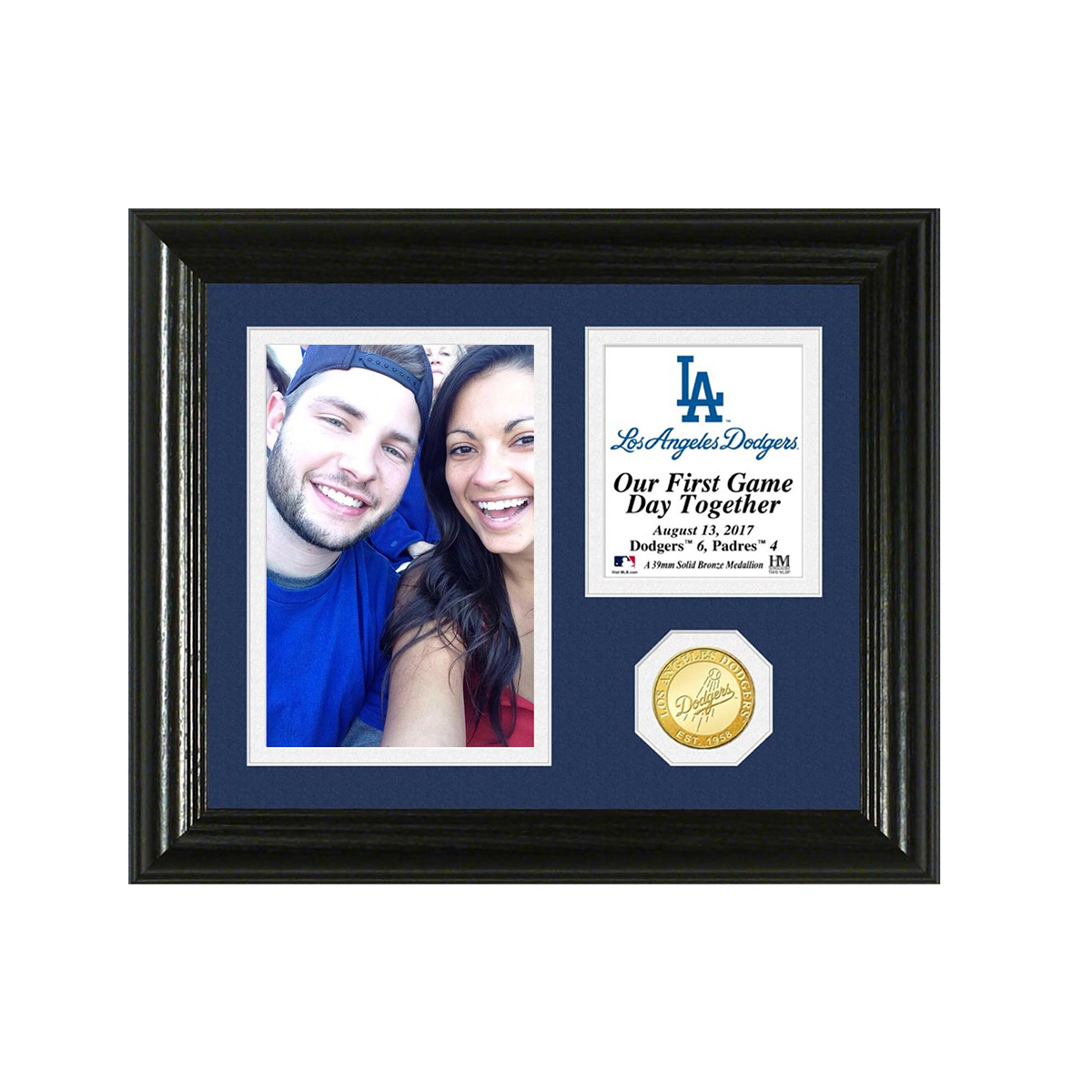 Los Angeles Dodgers Game Day Memories Personalized Photo Frame