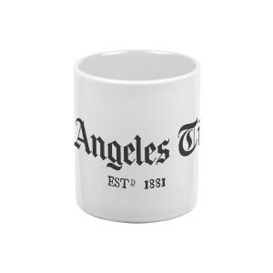 Los Angeles Times Standard Logo White Mug