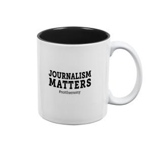 """Journalism Matters #nottheenemy"" Mug"
