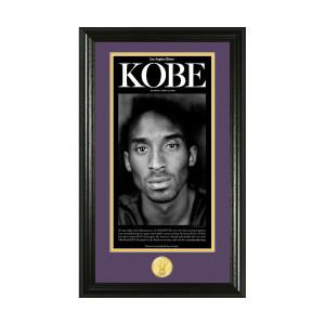 Kobe Bryant Retirement Photo Mint