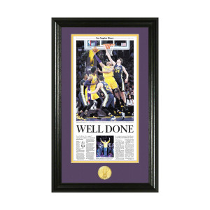 Kobe Bryant Final Game Photo Mint