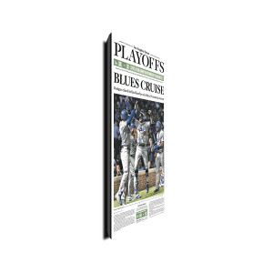 Los Angeles Dodgers NLCS Championship 10/20/2017 Front Page Plaque