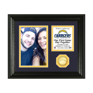 Los Angeles Chargers Game Day Personalized Photo Frame