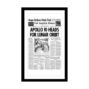 Los Angeles Times Page Print