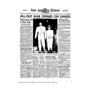 Historical Front Page - All-Out War