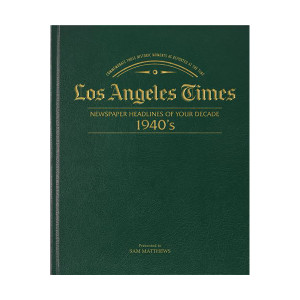 Los Angeles Times 40's Decade Book
