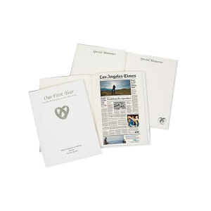 Los Angeles Times Our First Year Anniversary Book