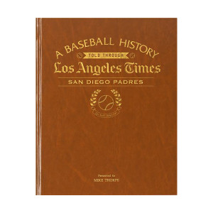 LA Times San Diego Padres Newspaper Book