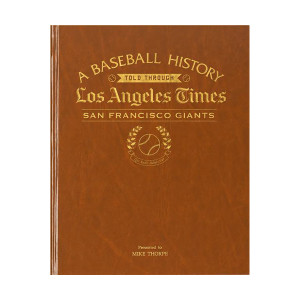 Los Angeles Times San Francisco Giants Newspaper Book
