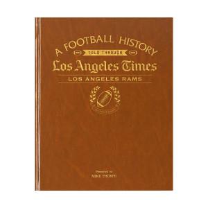 LA Times Los Angeles Rams Newspaper Book
