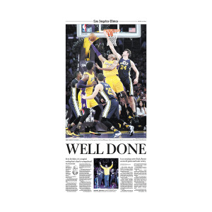 """Well Done"" Kobe Bryant Sports Commemorative Page"