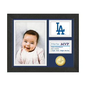 Los Angeles Dodgers Baby MVP Personalized Photo Frame