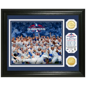 Los Angeles Dodgers 2018 NL Champions Celebration Bronze Coin Photo Mint