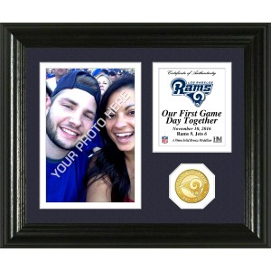 Los Angeles Rams Game Day Memories Personalized Photo Frame