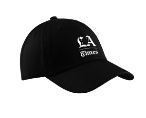 Los Angeles Times Adjustable Polo Cap