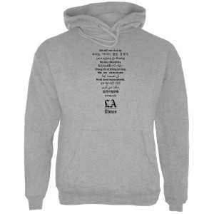"LA Times ""We Will Not Shut Up"" Hoodie"