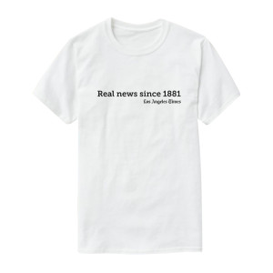 "LA Times ""Real News"" T-Shirt"