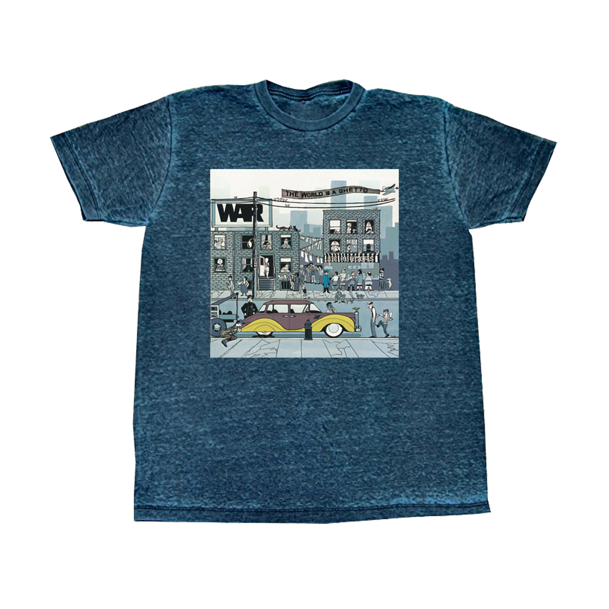 World Is A Ghetto T-Shirt