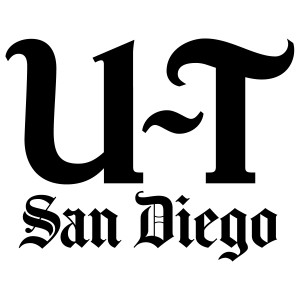 Custom San Diego Union Tribune Press Plate
