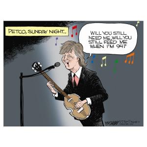 Paul McCartney by Steve Breen