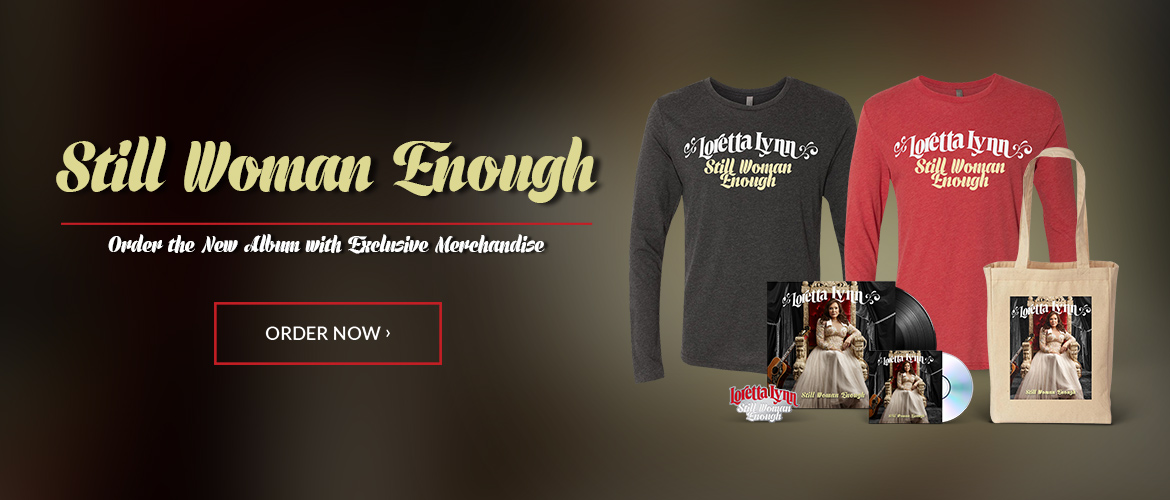 """Still Woman Enough"" - PREORDER THE NEW ALBUM WITH EXCLUSIVE MERCHANDISE"
