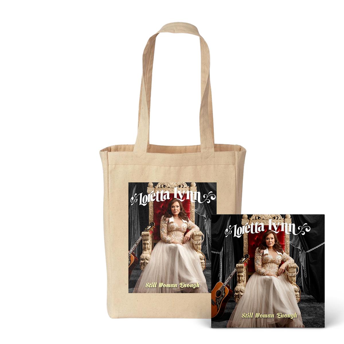 Still Woman Enough Tote Bag