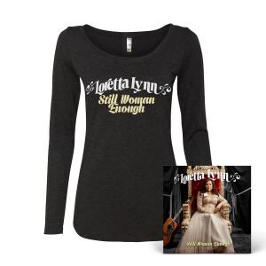 Still Woman Enough Ladies T-Shirt - Black
