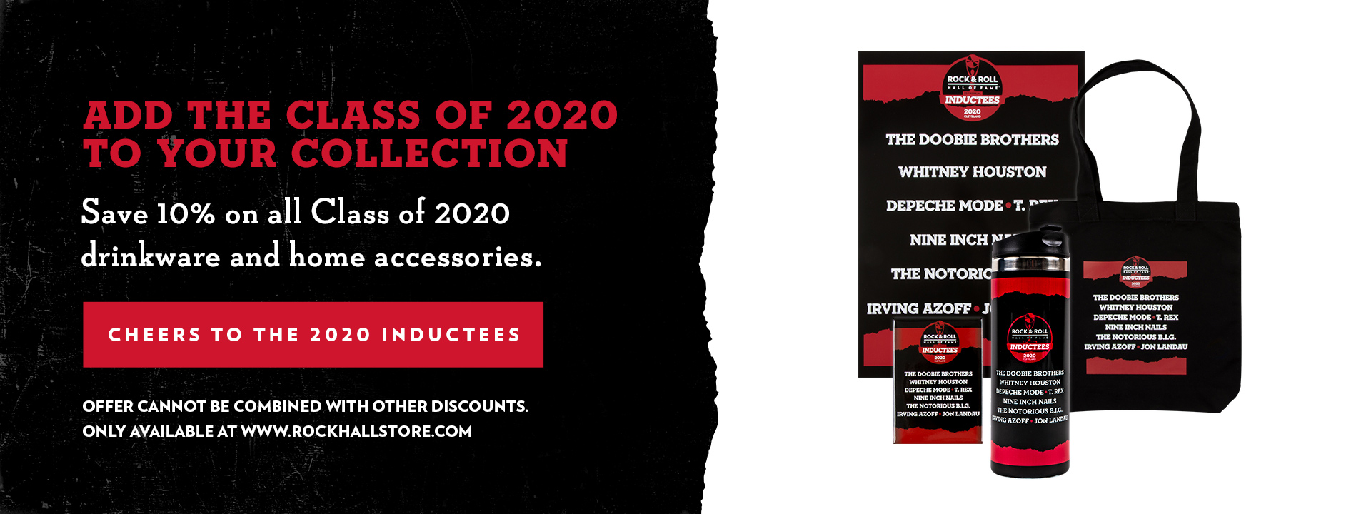 2020 Inductee Hard Goods Promo