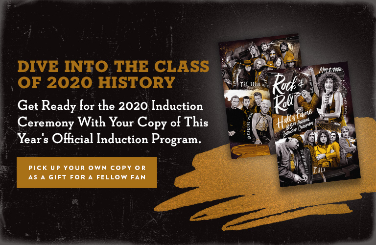 2020 INDUCTION PROGRAM