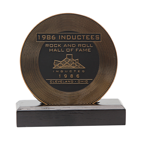 1986 INDUCTEE COIN